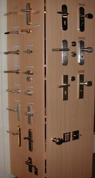 Sloten met deurklinken